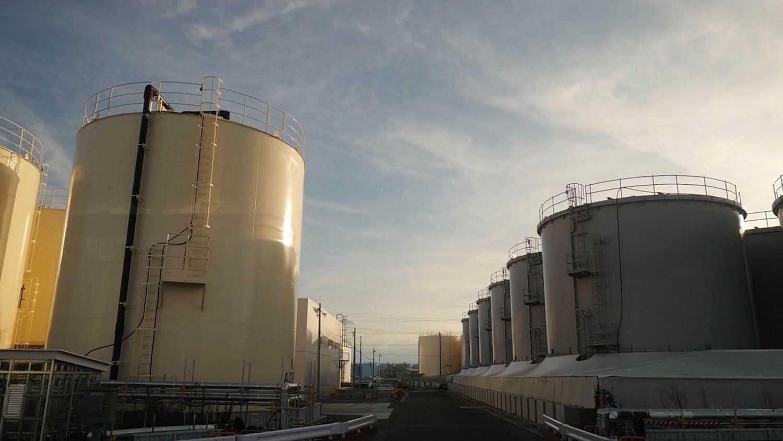 Water tanks at Fukushima Daiichi